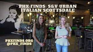 Fresh and Delicious Italian Food in Scottsdale, AZ! S&V Urban Italian is all about the family vibe!
