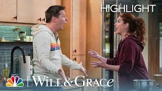 Grace and Jack's Epic Crouton Battle - Will & Grace (Episode Highlight)