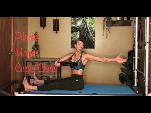 Athletic Magic Circle Mat Pilates with Trainer Fiona Hermanutz