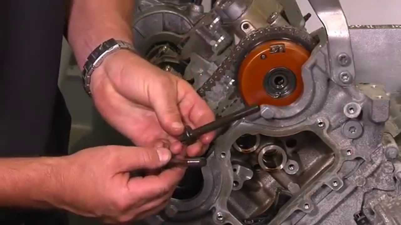 BMW N63 Timing chain installation