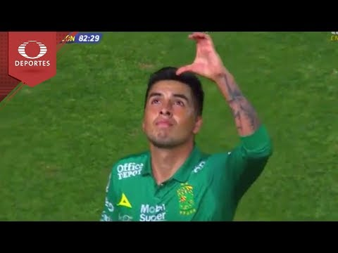 Gol de Leonel López   Necaxa 0 - 2 León   Copa MX - Octavos   Televisa Deportes