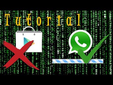 Instalar Whatsapp sin usar PlayStore O actualizar