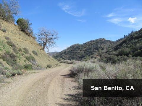 Benitoite Mining Area
