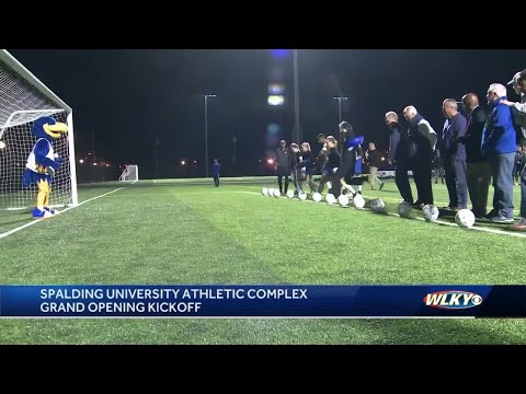 Ramsey and Rutherford - Spalding University Opens New Athletic Complex