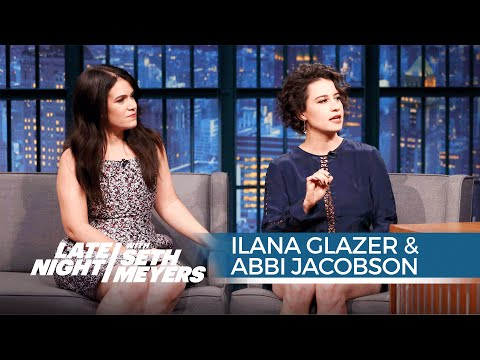 Broad City's Ilana Glazer and Abbi Jacobson on Filming an Episode ...