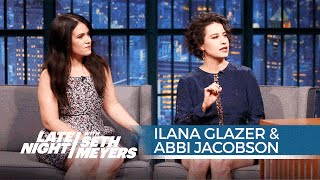 Broad City's Ilana Glazer and Abbi Jacobson on Filming an Episode with Hillary Clinton