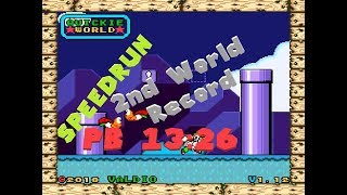 ♥ QUICKIE WORLD - SPEEDRUN PB 13:26 ||By LuhLSG|| 2nd World Record 04-07-2018 ♥