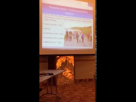 Atelier de discuții pe tema deșeurilor marine - Romania MML I