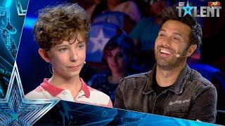 La CALCULADORA HUMANA vuelve con un discípulo que arrasa | Audiciones 9 | Got Talent España 2021