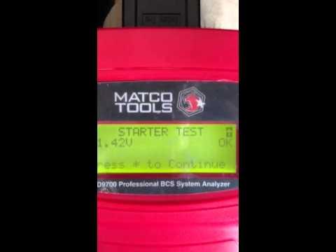 Matco tools md9700