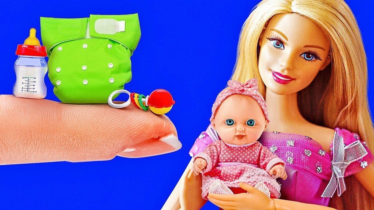 34 Diys Dan Kerajinan Untuk Boneka Barbie Anda Youtube