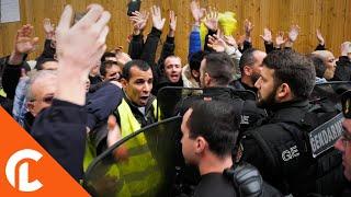 Prières de rue : Face à face entre musulmans et élus (10 novembre 2017, Clichy, France)