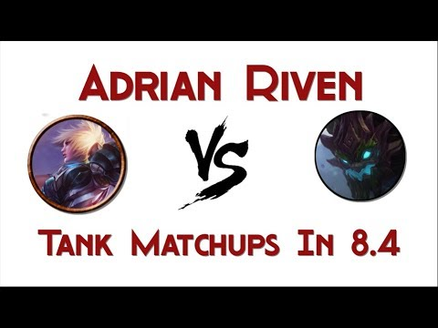 Adrian Riven vs Maokai matchup (Tanks in general)