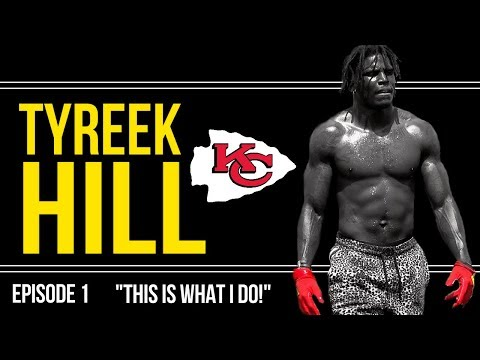 Another Day at the Office: Chiefs Receivers Tyreek Hill and Gehrig Dieter On-Field Workout