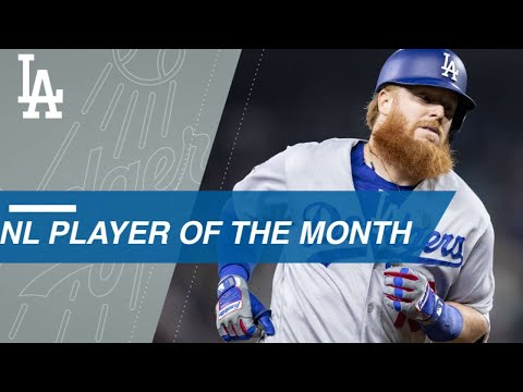 Justin Turner named National League Player of The Month