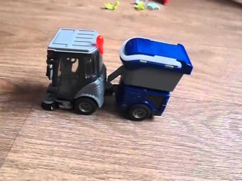 Машина для уборки улиц Dickie Toys - дорожная техника