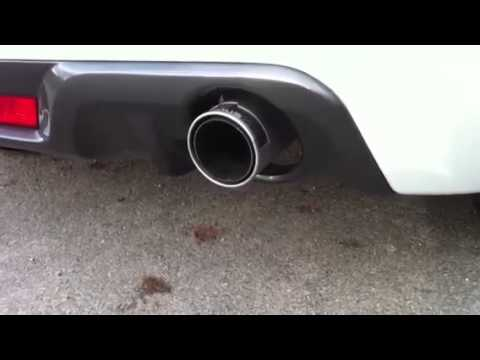 Repeat Suzuki Swift GTi Supersprint exhaust sound with 50mm