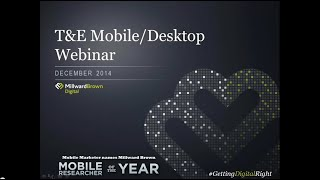 Gambar cover Webinar: Technology & Entertainment Mobile vs. Desktop Consumer Behavior