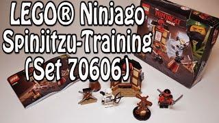 Test LEGO Ninjago Spinjitzu-Training (Set 70606 Review deutsch)