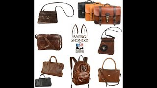 Exquisite Amish Handmade Leather Purses, Crossbody Shoulder Bags & More