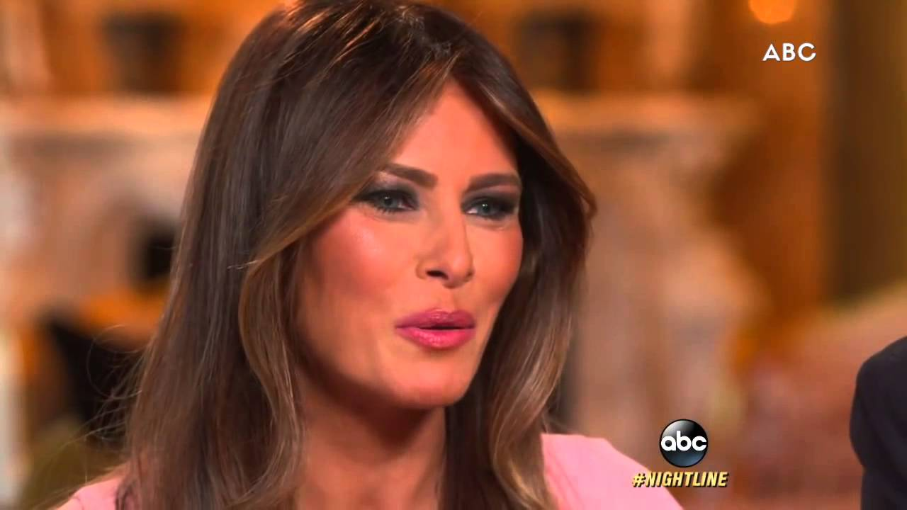 Melania Trump as First Lady? - YouTube