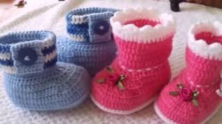 Dicas Simples de como fazer/Acabamentos em Sapatos BB em Crochê/GraçaTristão