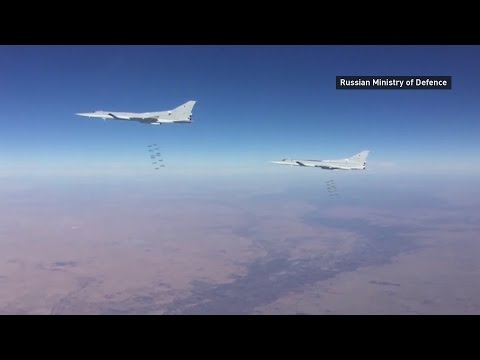 Russian planes target IS positions in east Syria