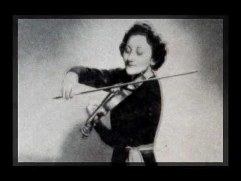 Brahms / Erica Morini, 1957: Violin Concerto in D, Op. 77 - Movement 3 - Arthur Rodzinski