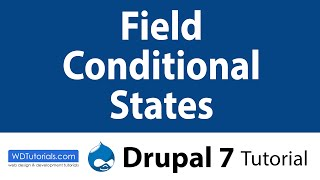Drupal 7 - How To Add Conditional Fields For Forms