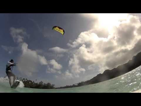 Kitesurfing Rarotonga Cook Islands by Kitesup Cook Islands.m4v