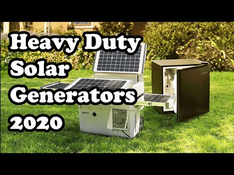 3 Best Heavy Duty Solar Generators