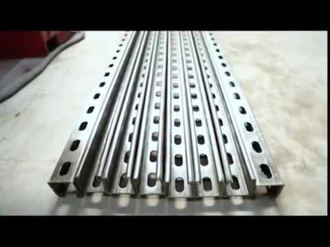 Unistrut rollforming machine (41x41) (41x21) JUGMUGrollforming.
