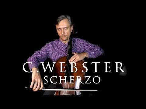 C. Webster Scherzo Suzuki Cello Book 3 In Fast And Slow Tempo