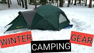 Winter Camping GEAR 2018 Colorado