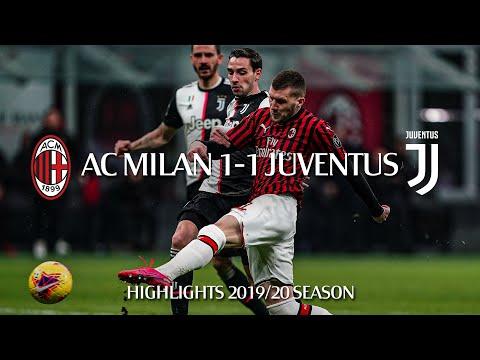 Highlights | AC Milan 1-1 Juventus | Semi-final first leg | Coppa Italia 2019/20