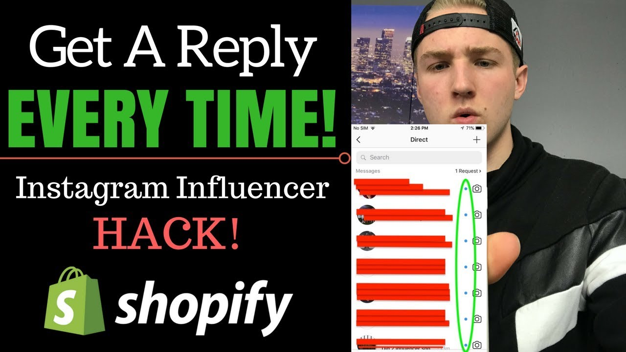 Shopify How To Get Influencers To Reply Instagram Shoutout Hack