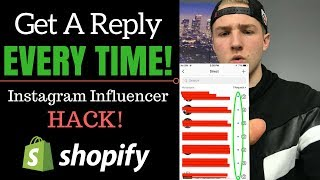 Shopify - How To Get Influencers To Reply (Instagram Shoutout HACK)