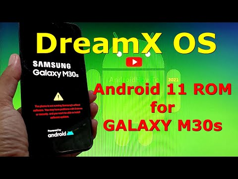 DreamX OS One UI 3.1 for Samsung Galaxy M30s Android 11