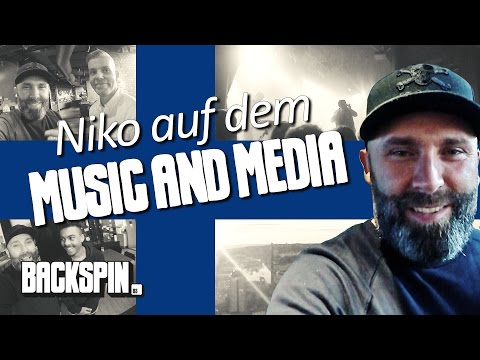 Was geht in Finnlands Rapszene?! Niko unterwegs auf dem Music and Media