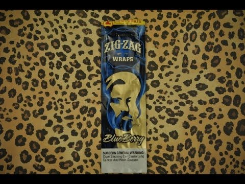 how to roll a perfect blueberry zig zag wrap blunt youtube. Black Bedroom Furniture Sets. Home Design Ideas