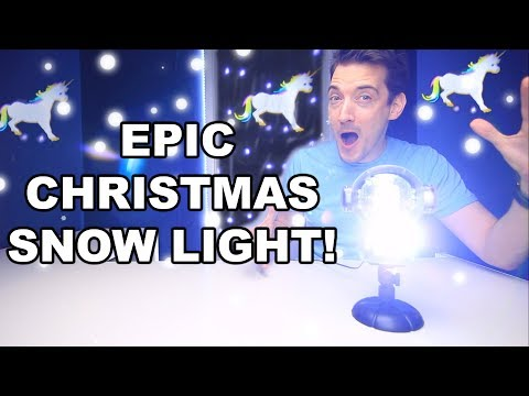 BEST CHRISTMAS SNOW LIGHT LED PROJECTOR? CHRISTMAS LIGHTS!