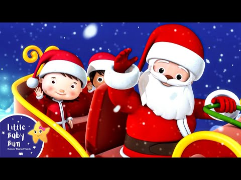 Thumbnail: We Wish You A Merry Christmas | Christmas Songs | by LittleBabyBum!