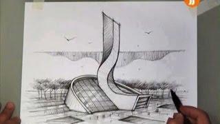 architect emad zand - sketch 03 - خلاقیت در معماری عمادالدین زند