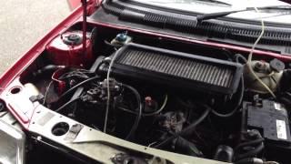 peugeot 205 XUD9 ill engine