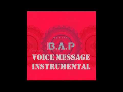 [Clean Inst.] B.A.P. -- Voice Message (음성메세지)