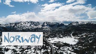 УДИВИТЕЛЬНАЯ ПРИРОДА НОРВЕГИИ I NORWAY NATURE I RELAX VIDEO I AERIAL