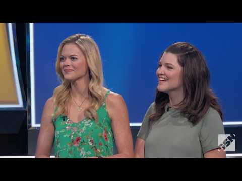 Former Miss Louisiana April Nelson on TV game show EMOGENIUS