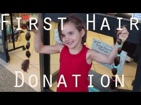 Amiliyah's First Hair Donation  |  Long to Short Hair / Bob  | Variety.org