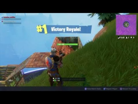 My Most Insane Victory Royale (Old Victory Royale music)