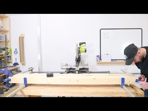 DIY Laminated Workbench for $100 Modern Builds I Woodworking